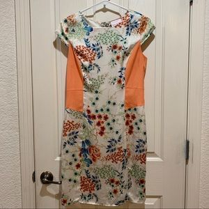 Romeo & Juliet Couture Floral Liner Dress Small